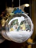 Dekorativa bollar för stor jul Royaltyfria Bilder