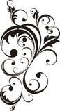 dekorativa designelement royaltyfri illustrationer