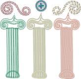 dekorativa element royaltyfri fotografi