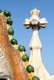 Dekorativa element av casaen Batlo Royaltyfria Foton