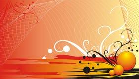 dekorativa element för bakgrundsaffärskort Royaltyfria Foton