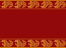 dekorativa element mönsan seamless Arkivbild