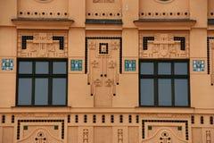 dekorativa fönster royaltyfri foto