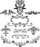 dekorativa illustrationer Arkivfoton