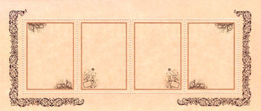 dekorativa internet för abstrakt baner Royaltyfria Bilder