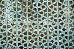 Dekorativa islamiska Art Texture Background Arkivbild