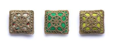Dekorativa kuddar Royaltyfri Fotografi