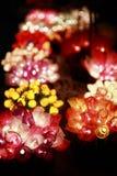 dekorativa lampor Fotografering för Bildbyråer