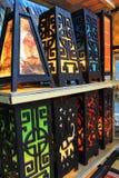dekorativa lampor Arkivfoton
