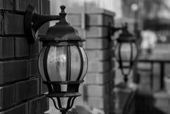 dekorativa lampor Arkivbild