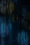 Dekorativa ljusa girlander arkivfoto