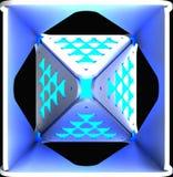 Dekorativa ljusabstrakt begreppbakgrunder illustration 3d royaltyfri illustrationer