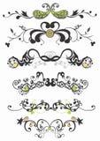 dekorativa modeller stock illustrationer