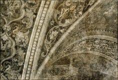 Dekorativa ornamen Arkivfoto