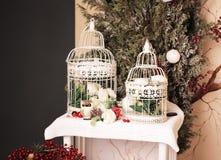 dekorativa prydnadar för jul Royaltyfria Foton