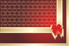 dekorativa ramband för bow Royaltyfria Bilder