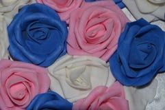 dekorativa ro för bakgrund Royaltyfri Fotografi