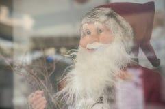 Dekorativa Santa Claus för julhändelse Arkivbilder