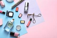 Dekorativa skönhetsmedel och hjälpmedel Royaltyfria Bilder