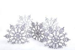 dekorativa snowflakes Royaltyfri Fotografi