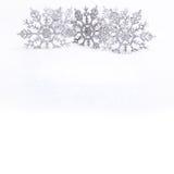 dekorativa snowflakes Royaltyfria Foton