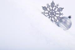 dekorativa snowflakes Royaltyfria Bilder