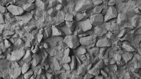 Dekorativa stenar på väggen Royaltyfri Fotografi