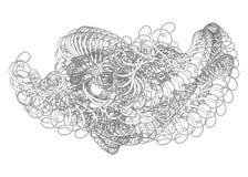 dekorativa swirls Royaltyfria Foton