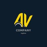 Dekorativa symboler för bokstav för design Arkivfoto