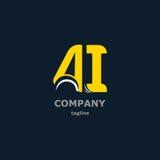 Dekorativa symboler för bokstav för design Royaltyfri Foto