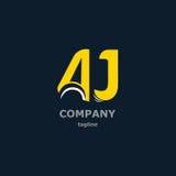 Dekorativa symboler för bokstav för design Fotografering för Bildbyråer