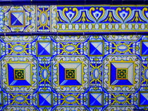 dekorativa tegelplattor Royaltyfri Bild