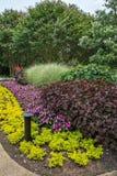 dekorativa trädgårdar Arkivfoto