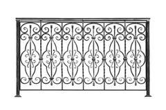 Dekorativa trappräcke, staket royaltyfria foton