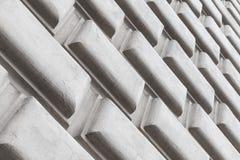 Dekorativa väggbeståndsdelar för abstrakt arkitektur Arkivbilder