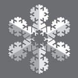 Dekorative abstrakte Schneeflocke Lizenzfreies Stockbild