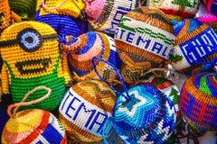 Dekorative Andenken zeigen, Puerto-Quetzal, Guatemala, Zentralamerika an lizenzfreies stockbild