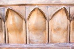 Dekorative Art der Kunsttöpferwaren-Wand Stockbild