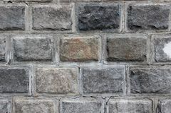 Dekorative Backsteinmauer Lizenzfreie Stockbilder