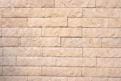 Dekorative Backsteinmauer Lizenzfreies Stockfoto