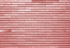 Dekorative Backsteinmauer im roten Ton lizenzfreie stockfotografie