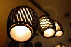 Dekorative Beleuchtung Stockbild