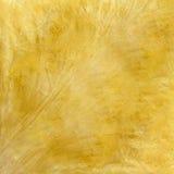 Dekorative Beschaffenheit des glatten gelben Gipses Stockbild