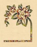 Dekorative Blume Stockfotos
