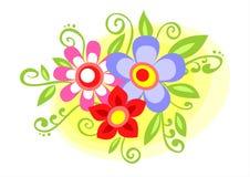 Dekorative Blumen Stockfotografie
