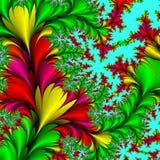 Dekorative Blumen. vektor abbildung