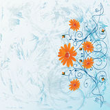 Dekorative Blumen vektor abbildung