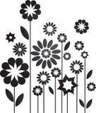 Dekorative Blumen Lizenzfreies Stockbild