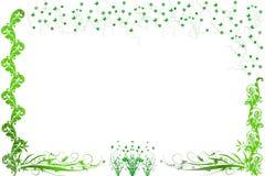 Dekorative Blumen und kleine Basisrecheneinheiten vektor abbildung