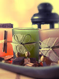 Dekorative Cup Stockbild
